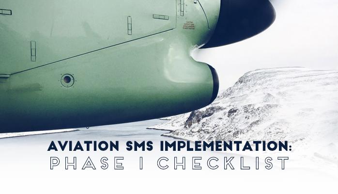 Aviation SMS Implementation Phase 1 Checklist