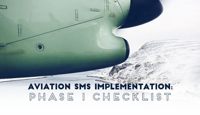 Aviation SMS Implementation Phase 1 Checklist