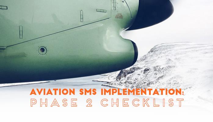 Aviation SMS Implementation Phase 2 Checklist