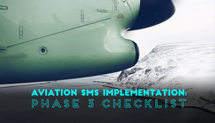 Aviation SMS Implementation Phase 3 Checklist
