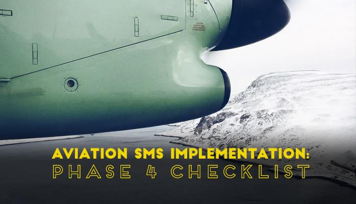 Aviation SMS Implementation Phase 4 Checklist