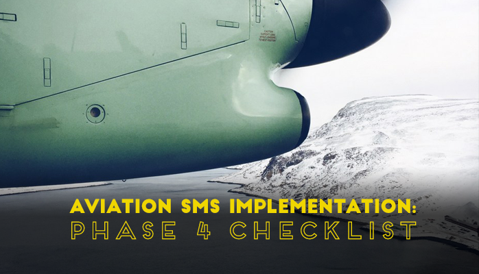 Aviation SMS Implementation Phase 4 Checklist