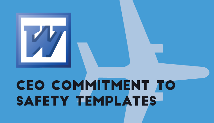 free ceo commitment to safety templates for airlines and airports