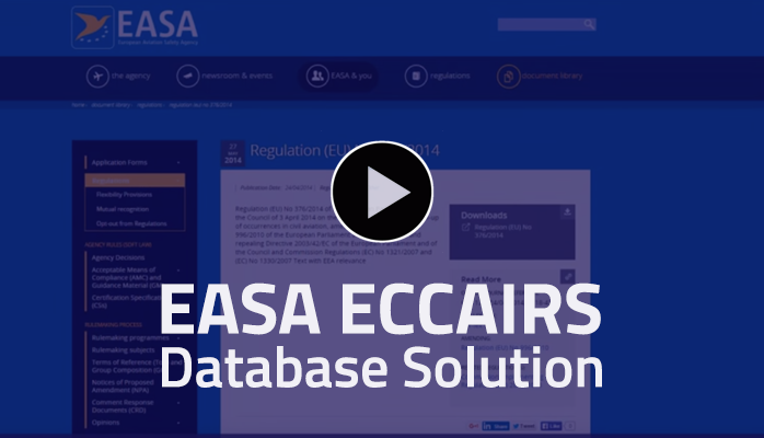EasaEccairsDatabaseSolutions