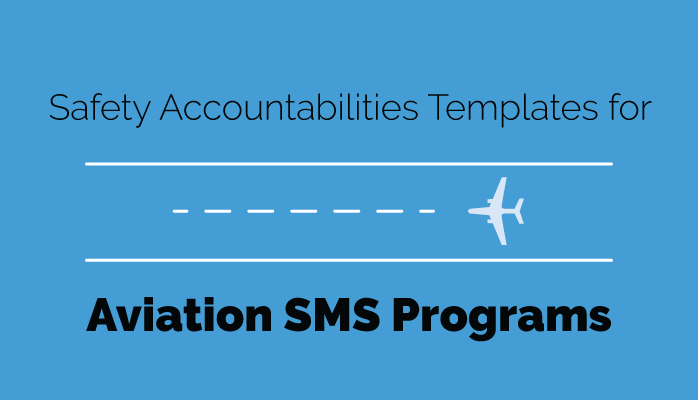 Aviation SMS Program safety accountabilities template download