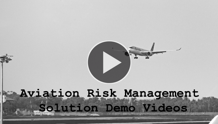 Demo Videos of Aviation Risk Management Solution with KPI Trend Monitoring