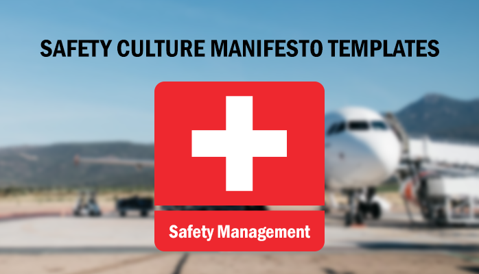Aviation Safety Culture Manifesto Template Download
