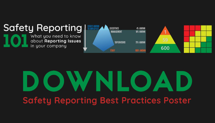 Hazard reporting poster best practices SMS