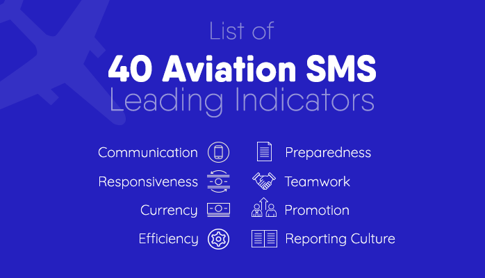 Download Free List of Aviation SMS Leading Indicators for Safety Management Systems